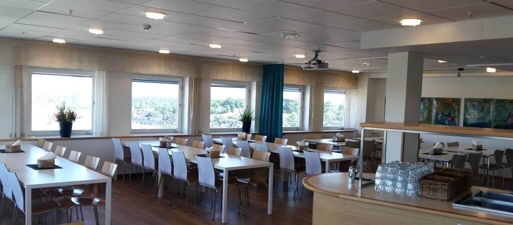2cb633befee Odenplans Festvåning ligger på våning 12 och har underbar utsikt över  Stockholm i 3 väderstreck. Lokalen rymmer upp till 70 gäster och erbjuder  möjligheten ...