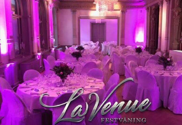 La Venue Festvåning